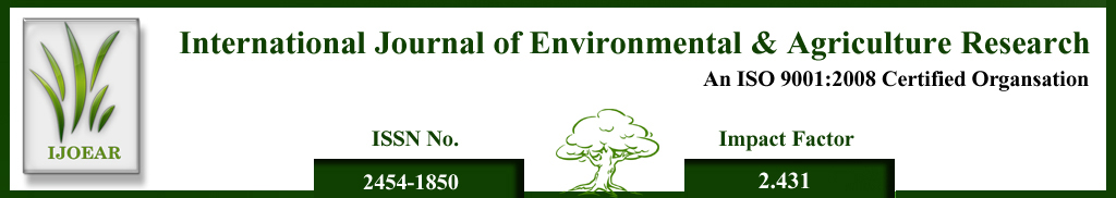 Agriculture Journal- Ecological and Agricultural monitoring of Sebou river waters at Kariat Bamohamed (Taounate-Morocco)