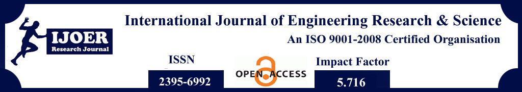 Engineering Journal: published its volume-4, Issue-5, May 2018 with AD Publications
